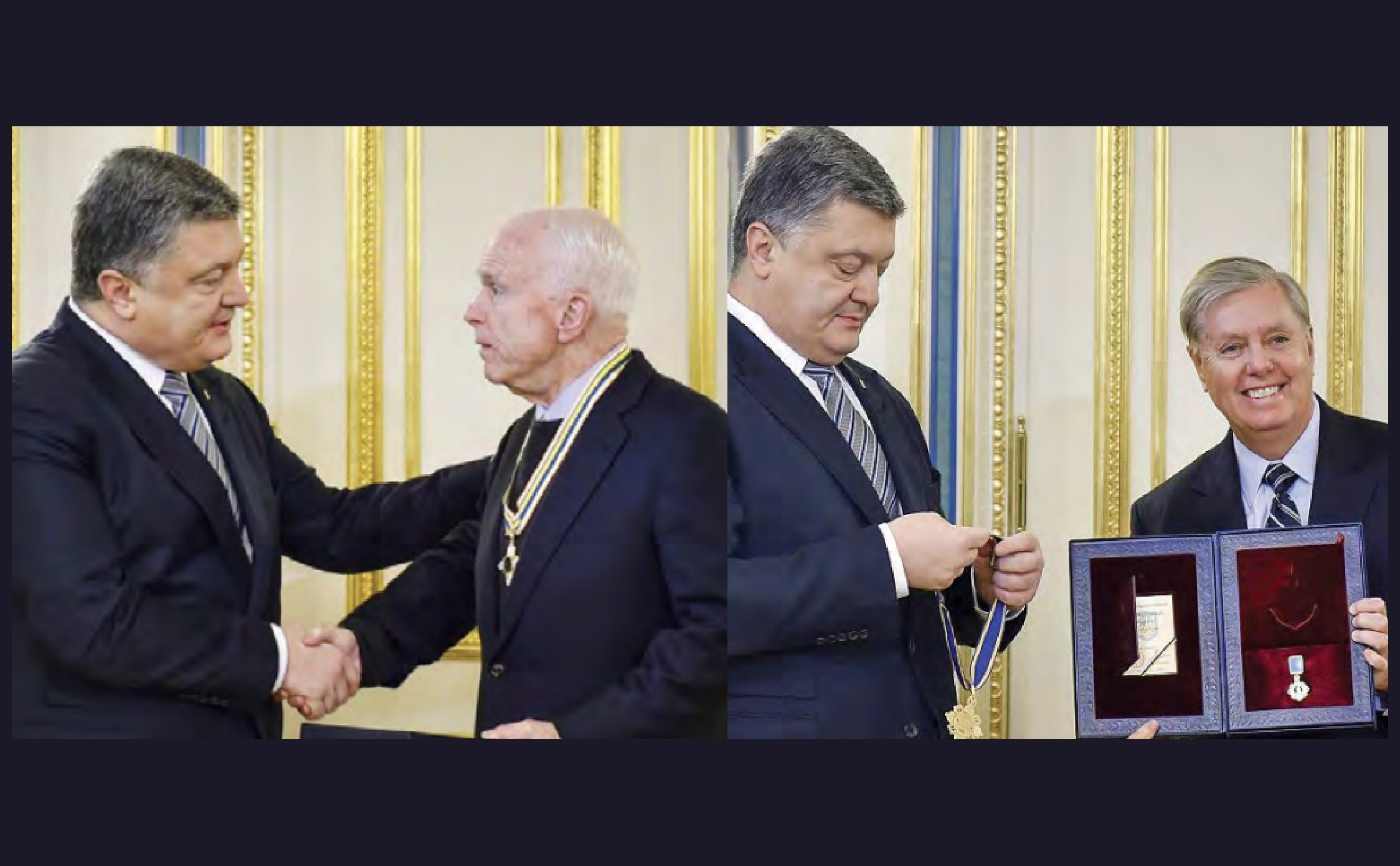 VIDEO] 2017: Lindsey Graham and John McCain Awarded 'State Honors' By  Corrupt Ukrainian Govt. Who Meddled In Our 2016 Election - WayneDupree.com