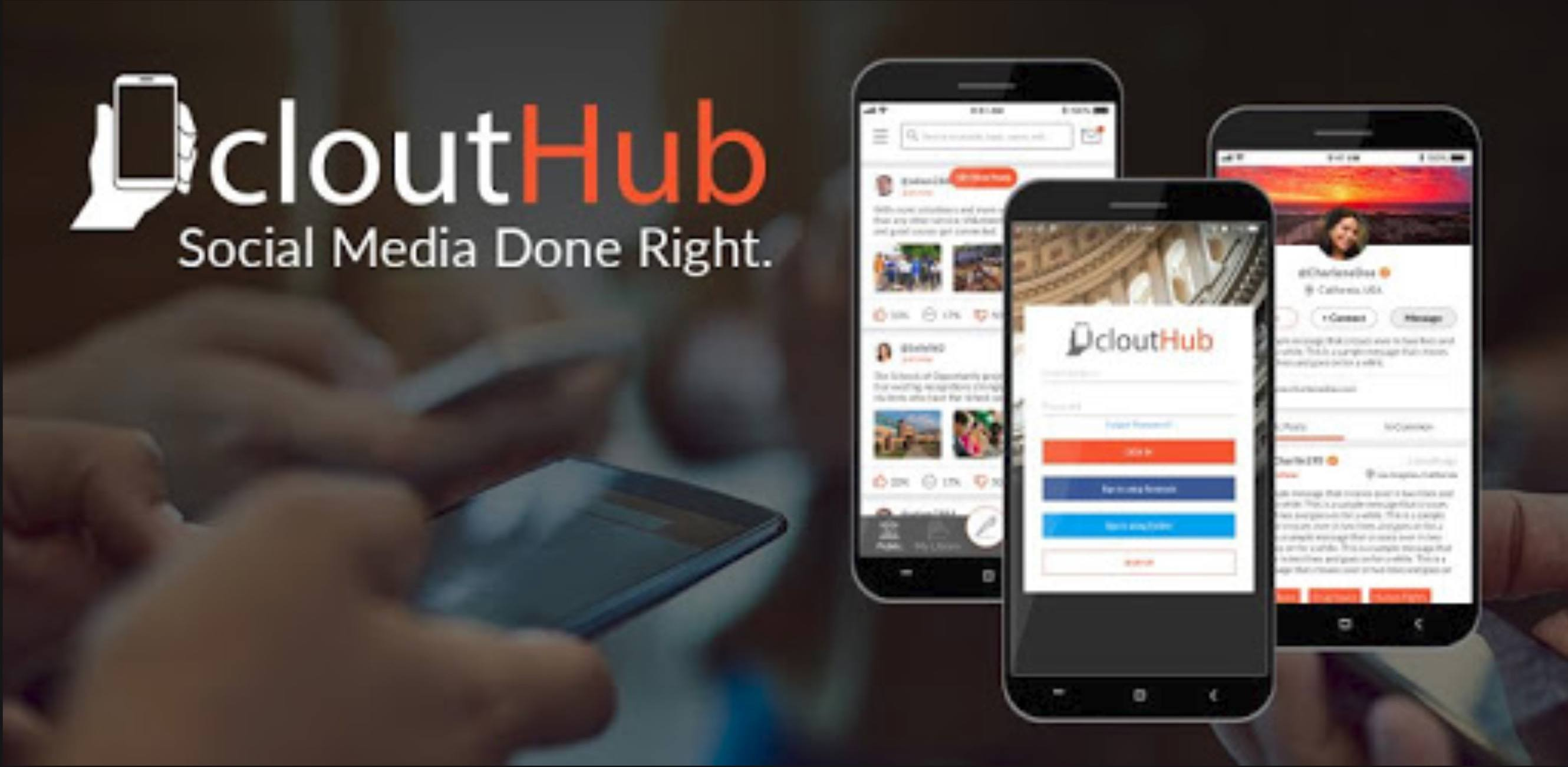 CloutHub Social Media App IS Ready For Breakout Year In 2020!