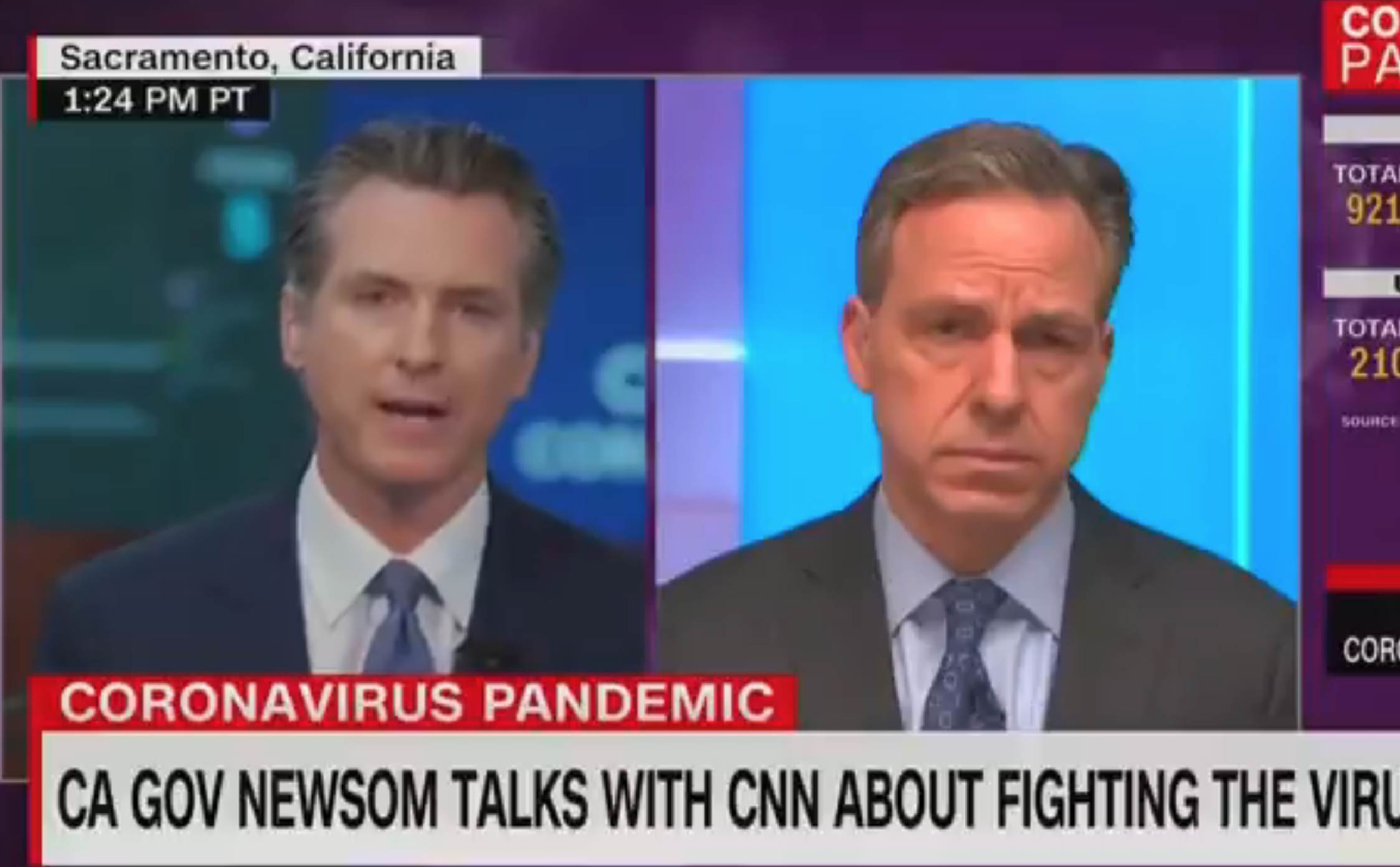 [VIDEO] Gavin Newsom Refuses to Trash Trump on CNN - 'I'd Be Lying to You to Say That He Hasn't Been Responsive to Our Needs' - WayneDupree.com