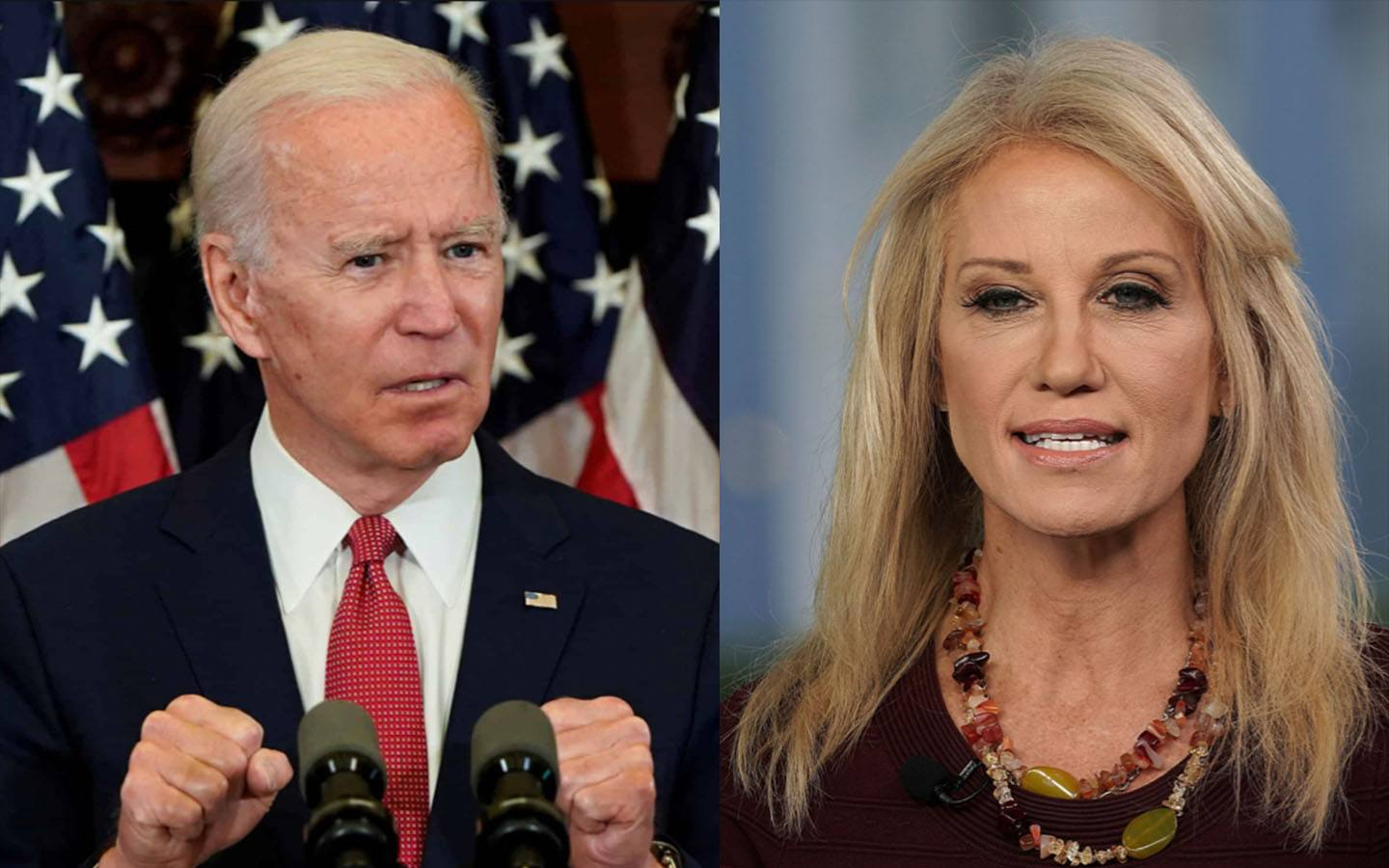 Kellyanne Hits Back at 'Creepy' Joe for Twisting Her Words – 'You Lied. And Don't Sniff My Hair, Either.'