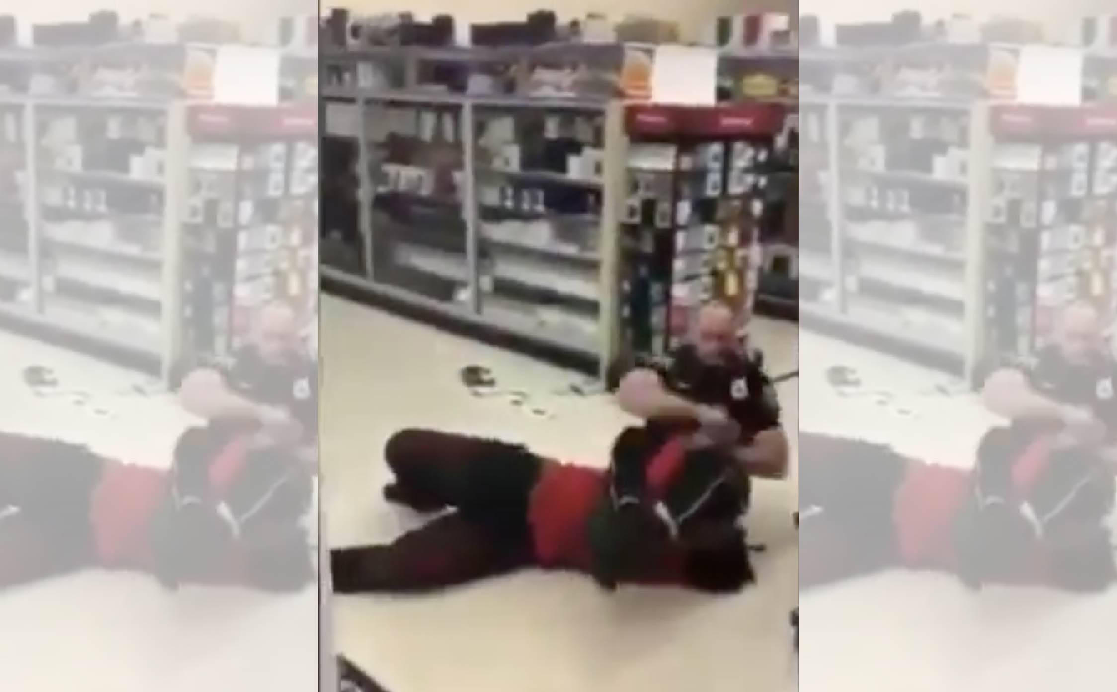 [VIDEO] This Cop Masterfully Uses Ju Jitsu Moves to Handcuff a Violent Perp With His Legs